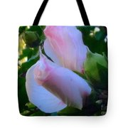 Soft And Gentle Rose Of Sharon Tote Bag