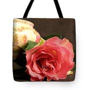 Soft Antique Rose Tote Bag
