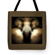 Soft Brown Elephant Tote Bag