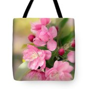 Soft Apple Blossom Tote Bag