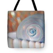 Soft Colored Shells Tote Bag