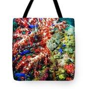 Soft Coral In Truk Tote Bag