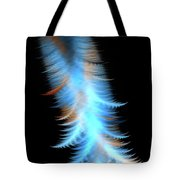 Soft Cosmic Feathers Tote Bag