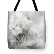 Soft Dahlia White Tote Bag