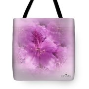 Soft Edged Floral Tote Bag