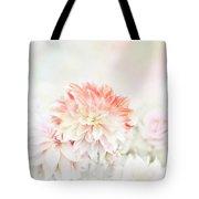 Soft Focus Floral Background Tote Bag