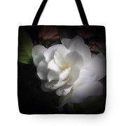 Soft Focus Gardenia Tote Bag