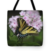 Soft Focus Tiger Swallowtail Tote Bag