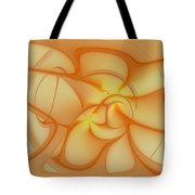 Soft Golden Flow Tote Bag