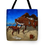 Soft Grand Piano Man Tote Bag by Mike McGlothlen