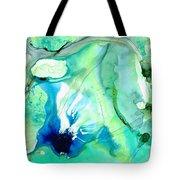 Soft Green Art - Gentle Guidance - Sharon Cummings Tote Bag
