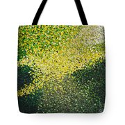 Soft Green Light  Tote Bag