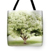 Soft Green Tree Tote Bag