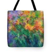 Soft Iris 2 Tote Bag