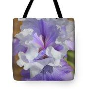 Soft Iris Tote Bag