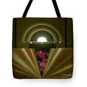 Soft Light Hard Surface Tote Bag