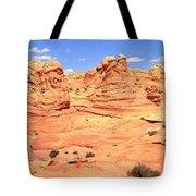 Soft Light On Vermilion Cliffs Tote Bag