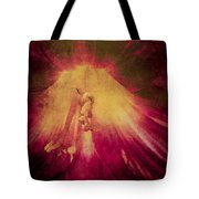 Soft Muted Impresionistic Distressed Daylily Photo Tote Bag