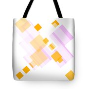 Soft Orange And Delicate Pink Tote Bag