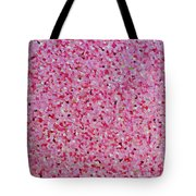 Soft Red Light  Tote Bag
