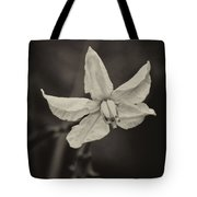 Soft Sepia Bloom Tote Bag