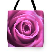 Soft Touch Pink Rose Tote Bag