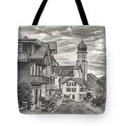 Soft Village Image Tote Bag