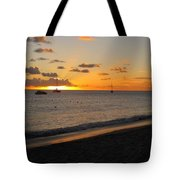 Soft Warm Quiet Sunset Tote Bag