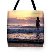 Soft Waves Tote Bag