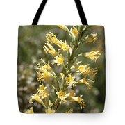 Soft Yellow Desert Flowers Tote Bag