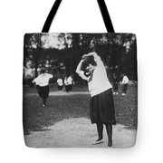 Softball Game Tote Bag