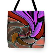 Softening Like Flowers Tote Bag