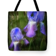 Softly Growing In The Garden Tote Bag