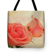 Softly Peach Tote Bag
