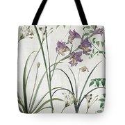 Softly Purple Crocus Tote Bag