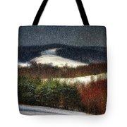 Softly Sifting Tote Bag by Lois Bryan