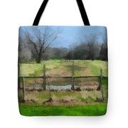 Soggy Texas Bayou Tote Bag