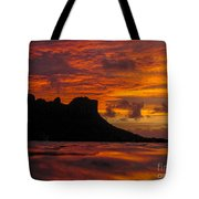 Sokeh's Rock Sunset Tote Bag