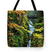 Sol Duc Falls In Autumn Tote Bag