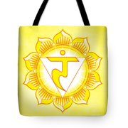 Solar Plexus Chakra Tote Bag by David Weingaertner