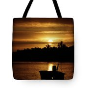 Solar Charged  Tote Bag
