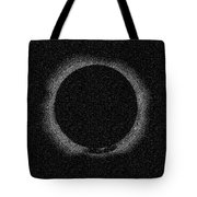 Solar Eclipse By Hinode Observes, Nasa 2 Tote Bag