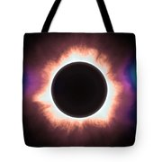 Solar Eclipse In Infrared 2 Tote Bag