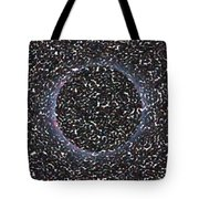 Solar Eclipse In Totality 5 Aboriginal Dotted Art Style Tote Bag