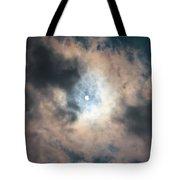 Solar Eclipse No Filter Tote Bag