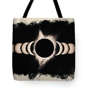 Solar Eclipse Phases 2 Tote Bag