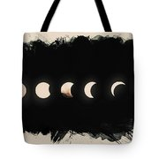 Solar Eclipse Phases Tote Bag