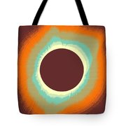 Solar Eclipse Poster 4 Tote Bag