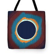 Solar Eclipse Poster Tote Bag