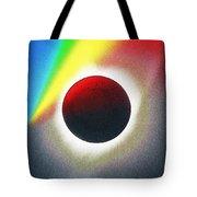 Solar Eclipse Spectrum  Of 2017 2 Tote Bag